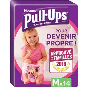 Sélection d'offres promotionnelles - Ex : Couches-culottes Huggies Pull-Ups fille taille M x14