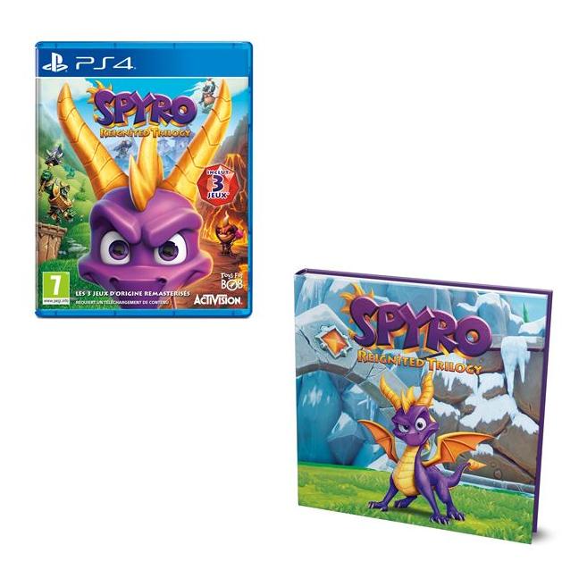 Spyro Reignited Trilogy sur PS4 ou Xbox One + Livre L'histoire de Spyro offert