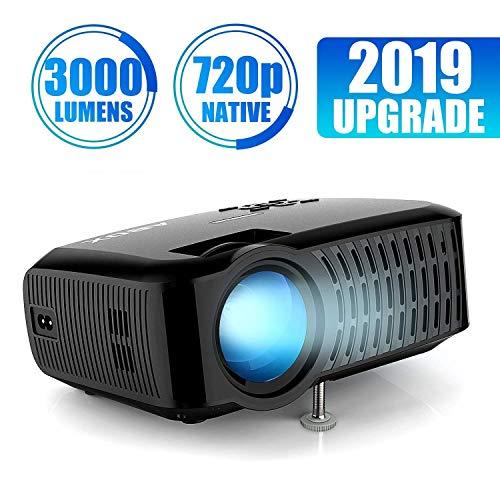 Vidéoprojecteur Abox A2 - 720p Natif, 3000 lumens (vendeur tiers)