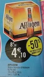 Bière Affligem (-50% de réduction immédiate)