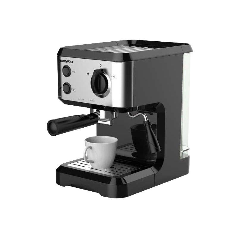 Cafetière à expresso pompe Daewoo DCM Duo CM4677 - 1050W, 1.5L, 15 bars
