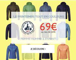 Sélection de doudounes Just over the Top en promotion - Ex: Doudoune Jott EVA pour enfant