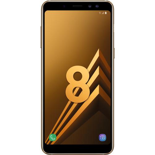 "Smartphone 5.6"" Samsung Galaxy A8 2018 Or - Full HD+, Exynos 7885, RAM 4 Go, ROM 32 Go (Via ODR de 50€) - 158.05€ avec le code HUMAN"