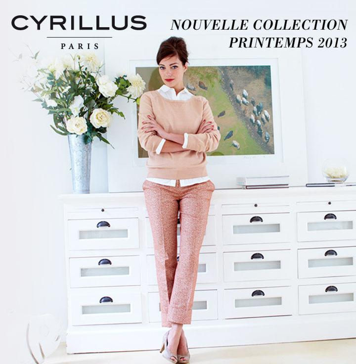-10€ offerts dès 20€ d'achats sur la collection Printemps-été Cyrillus