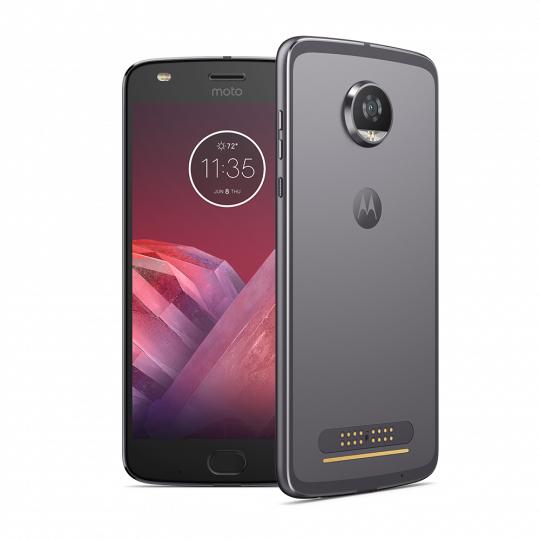 """Smartphone 5,5"""" Motorola Moto Z2 Play Gris - Snapdragon 626 Octo Core 2.2 Ghz, 4 Go RAM, 64 Go (170,91€ avec le code HUMAN)"""