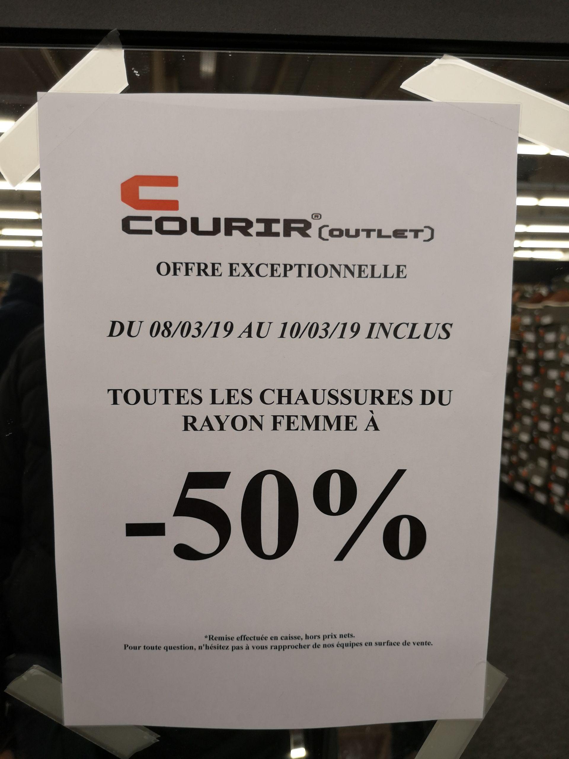 -50% sur toutes les chaussures du rayon femme - Villepinte (93)