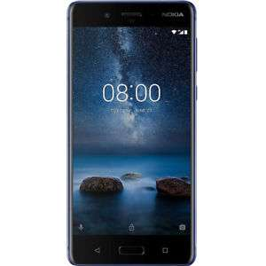 """Smartphone 5.3"""" Nokia 8 TA-1004 - Snapdragon 835 , 6Go RAM, 128Go ROM, Dual Sim"""