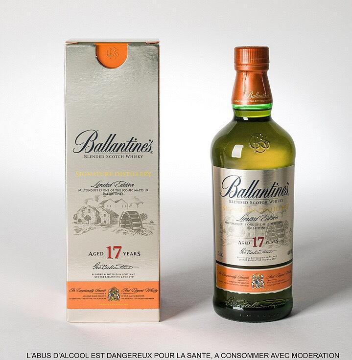 Whisky Ballantine's 17 ans Miltonduff Edition 70cl