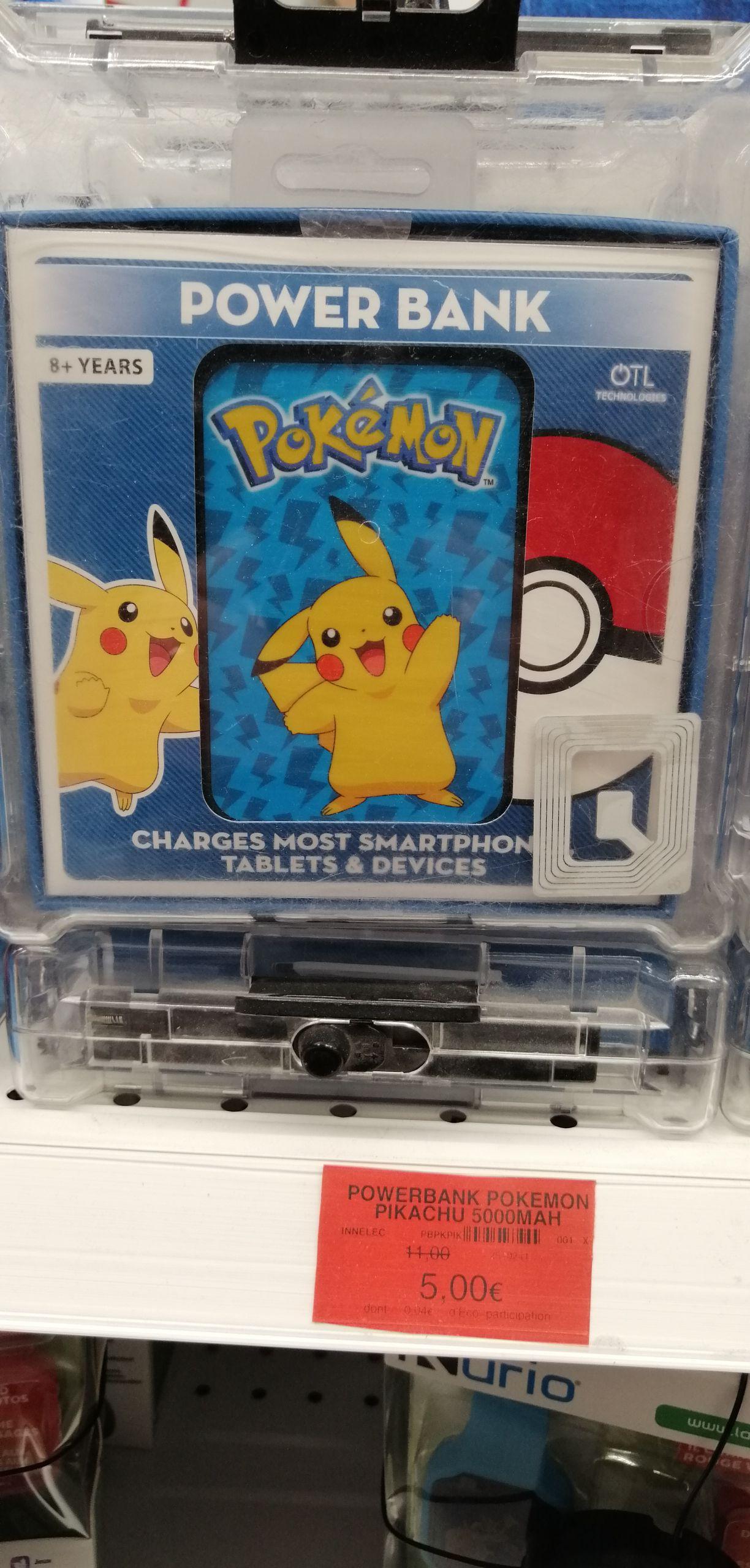 Batterie externe Powerbank Pokémon (5000 mAh) - Ormesson (94)