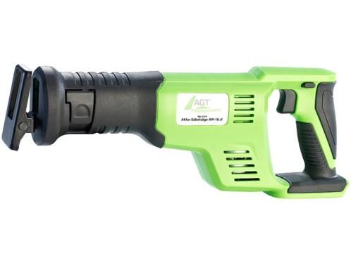 Scie sabre sans fil professionnelle AGT Professional - 18 V (sans batterie et chargeur)
