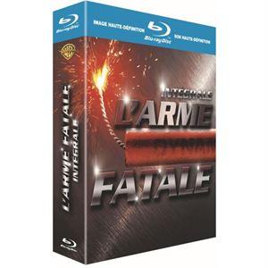 Blu-Ray Coffret L'Arme Fatale, l'intégrale 4 films