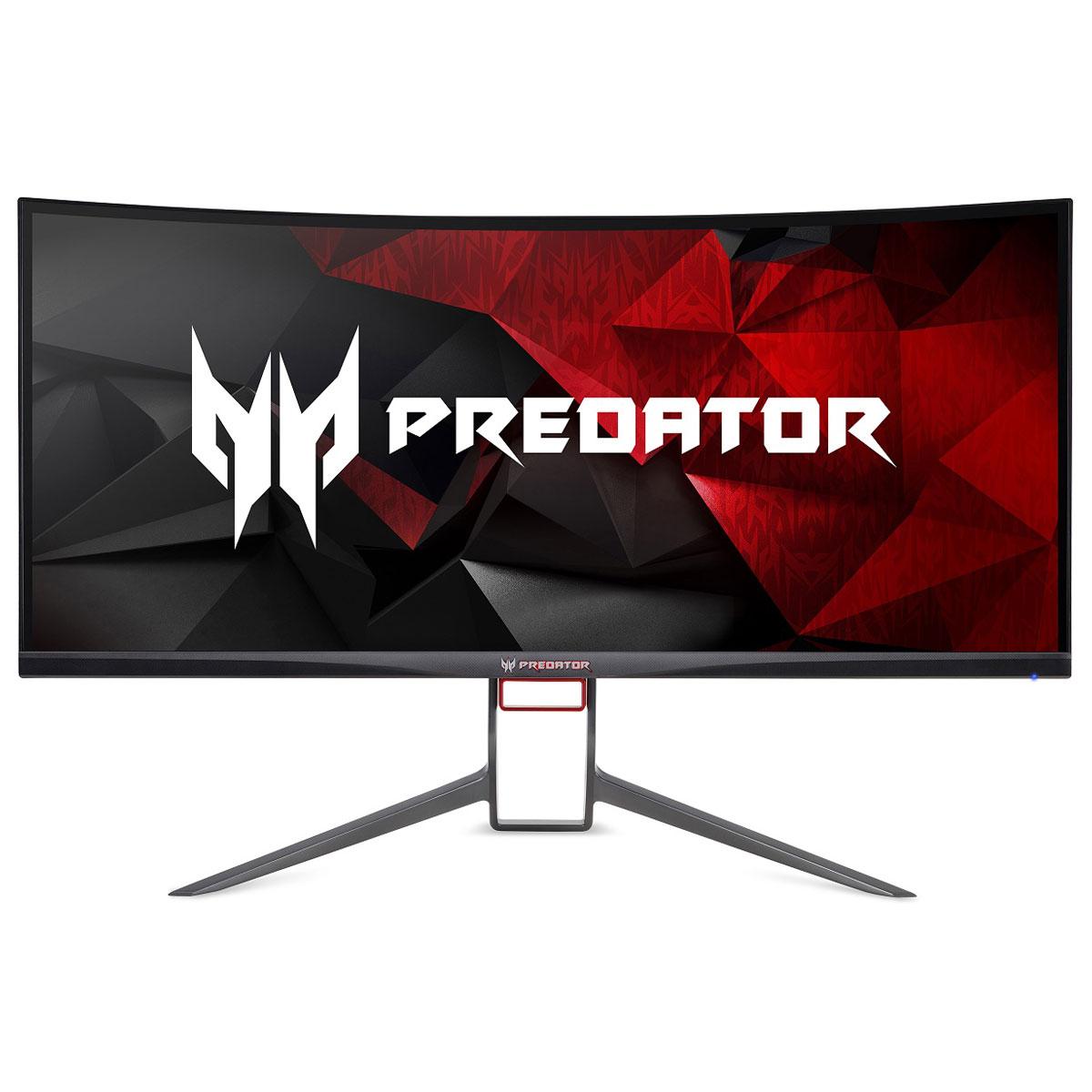 """Ecran PC 34"""" Acer Predator X34P - UWQHD, 120Hz, 4 ms (Reconditionné) - outlet-pc.fr"""