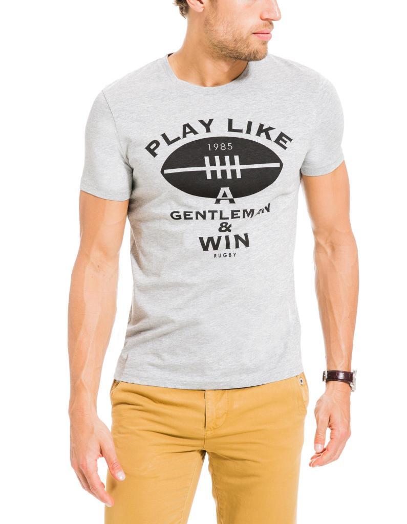 Jusqu'à 50% de réduction sur une sélection d'articles - Ex : T-Shirt Print Rugby (Tailles M et L)