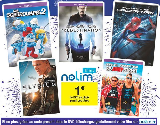 Sélection de DVD vendus à l'unité