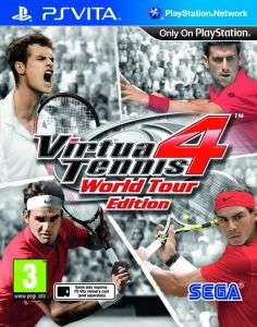 PS VITA GAME - Virtua Tennis 4