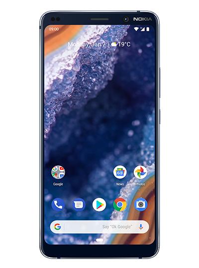 """Smartphone 5.99"""" Nokia 9 PureView - Bleu, 128Go (Via ODR de 100€)"""