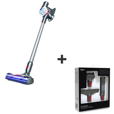 aspirateur balai sans fil dyson v7 cord free home cleaning kit. Black Bedroom Furniture Sets. Home Design Ideas