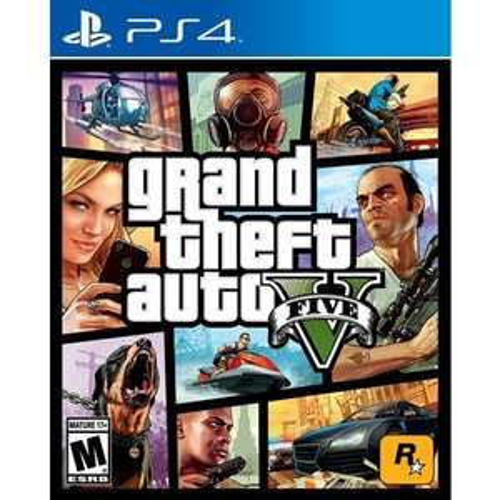 Grand Theft Auto V (GTA 5) sur PS4 ou Xbox One