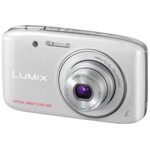 Appareil photo numérique Panasonic Lumix DMC-S2EF-W 14.1 Mpix - Blanc ou Rose