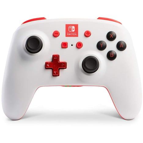 Manette Sans Fil Nintendo Switch - Blanche et rouge