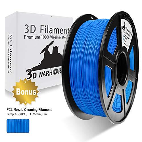 Filament 3D Warhorse PETG 1.75mm pour impression 3D - 1 Kg (vendeur tiers)