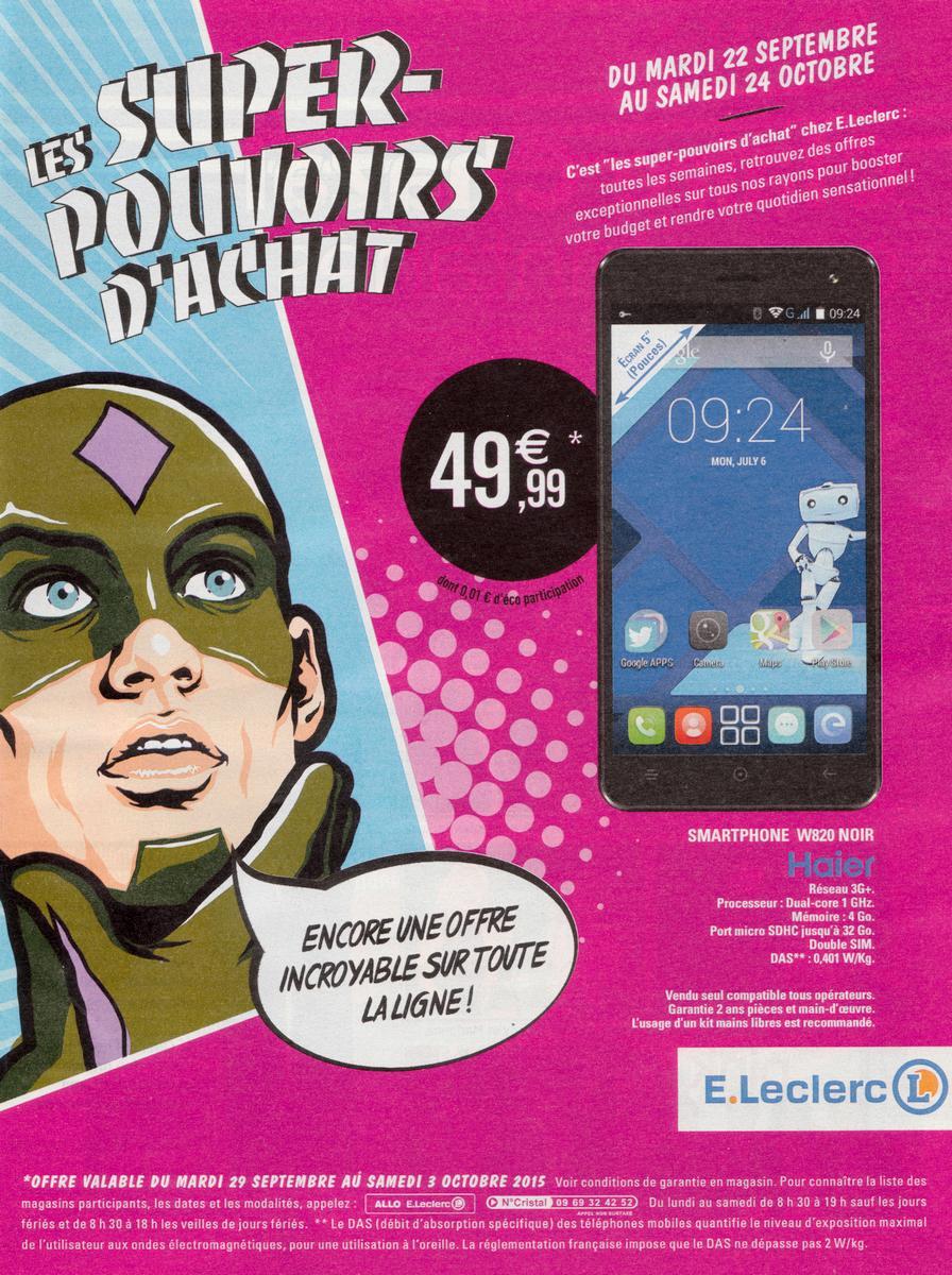 "Smartphone 5"" Haier W826 - Noir"