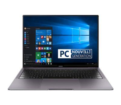 "PC portable 13.9"" Huawei MateBook X Pro - i7-8550U, MX-150, 8 Go de RAM, SSD 512 Go"