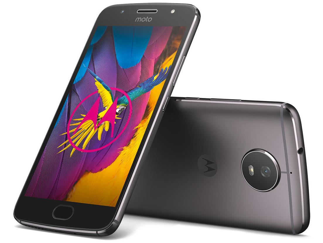 """Smartphone 5.2"""" Lenovo Moto G5S - RAM 3Go, 32Go, Gris"""