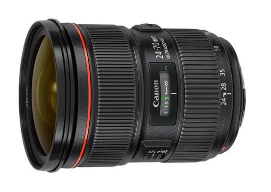 Objectif photo Canon EF 24-70 mm f/2.8L II USM