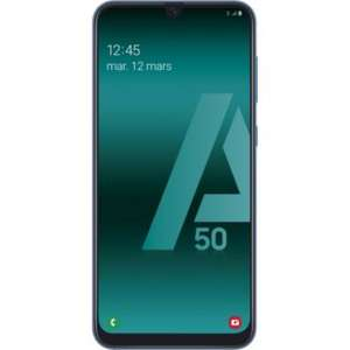 SamsungGalaxy A50 - Bleu, 4 Go de Ram, 128 Go