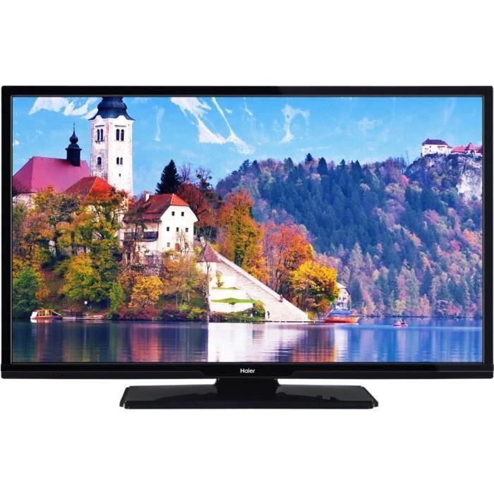 "[CDAV] TV 32"" Haier LEF32V200S - LED, Full HD, Smart TV, 2 x HDMI, Classe énergétique A+"