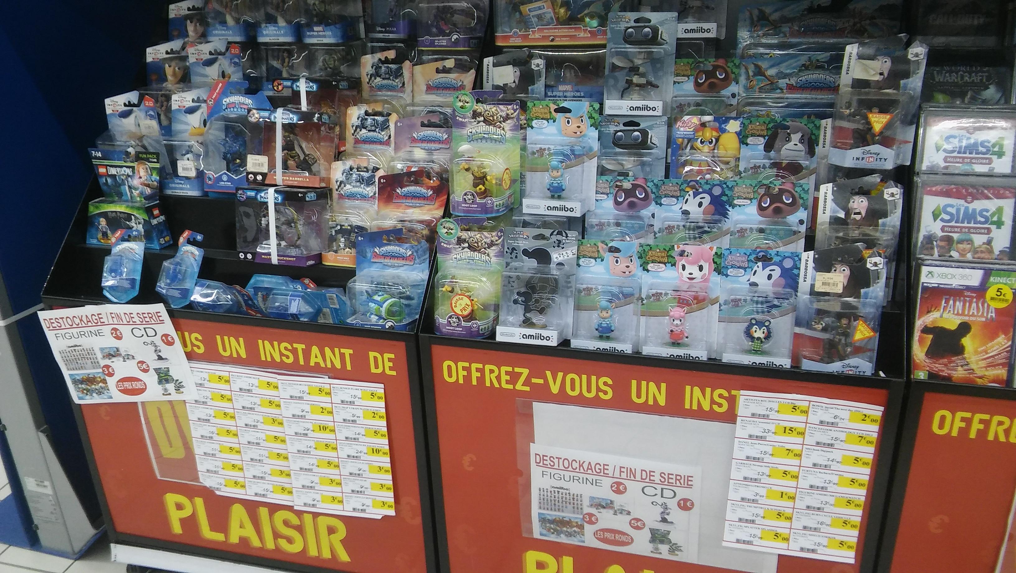 Sélection de figurines Amiibo, Skylander, Disney Infinity et Lego Dimensions en promotion - Intermarché Lisieux (14)