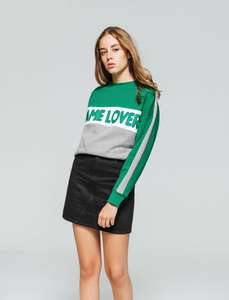 Sweat Colorblock Game Lover - Taille XS