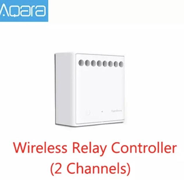 Relais Aqara 2 voies compatible Xiaomi Mi Home