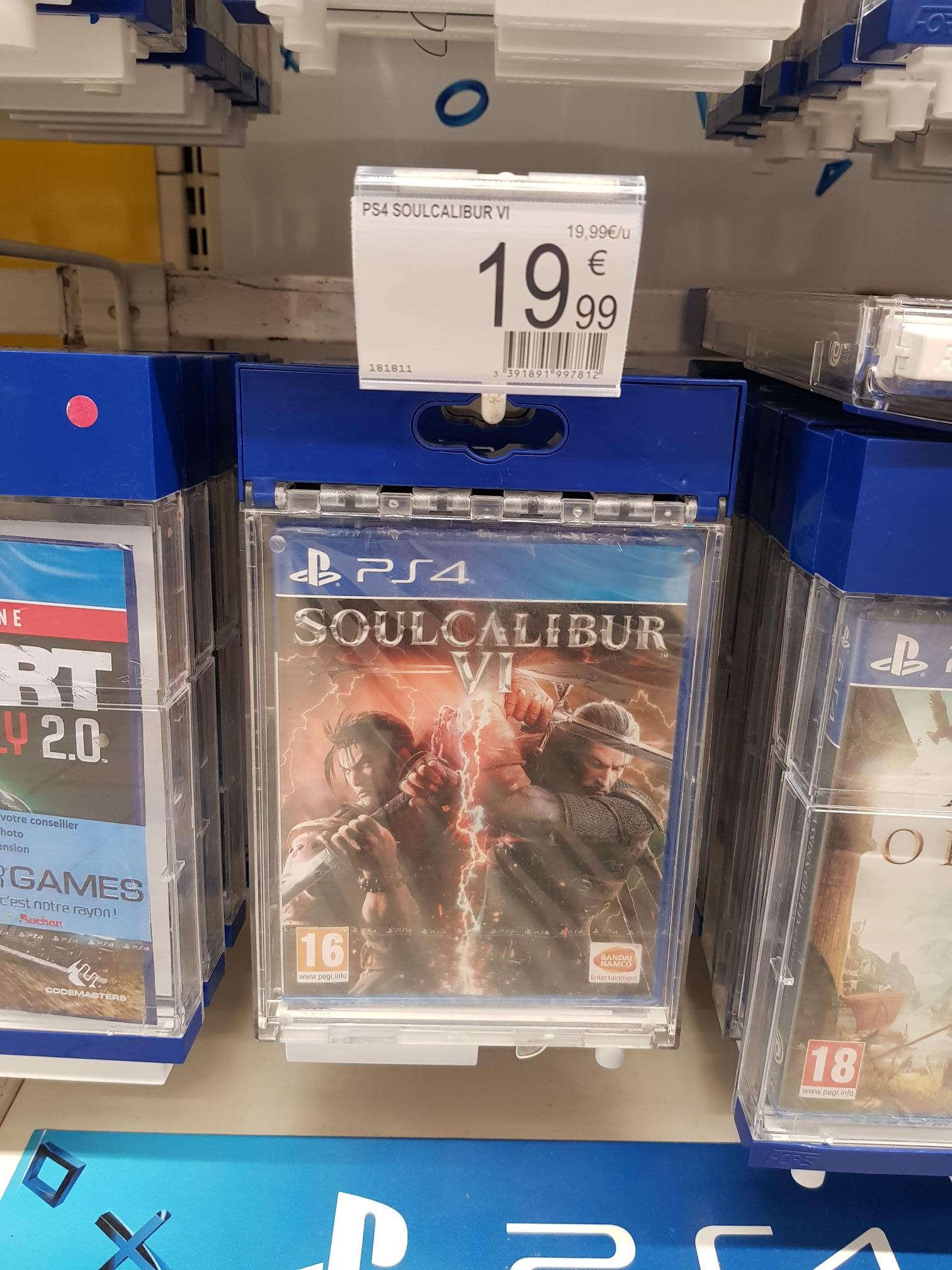 Soulcalibur VI sur PS4 - Montgaillard (76)