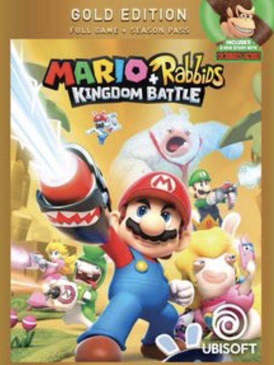 Mario + Lapins Cretins édition Gold sur Nintendo Switch