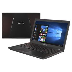 "PC Portable 15.6"" Gamer Asus FX552VE-DM380T - FHD,  i5-7300HQ 2.5GHz, RAM 6Go, 128Go SSD + 1To HDD, GTX1050Ti (2GB), Reconditionné"