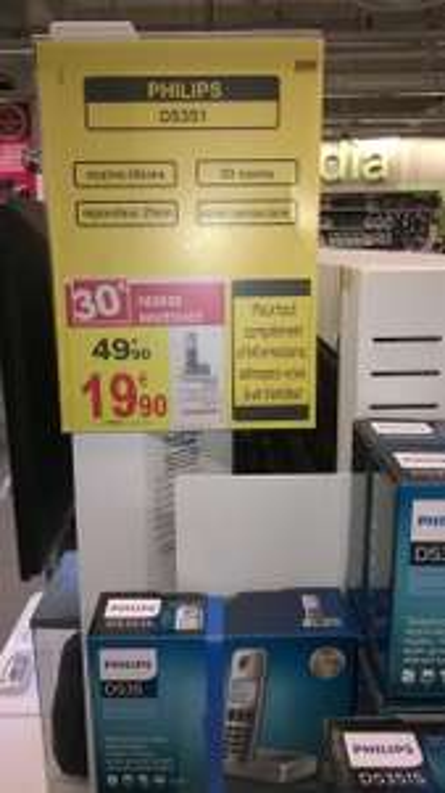 Téléphone sans fil DECT Philips D5351