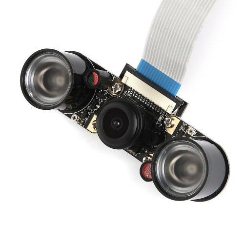 Module camera grand angle vision nocturne pour Raspberry