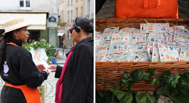 Distribution gratuite de graines pour fleurir la ville et nourrir les abeilles