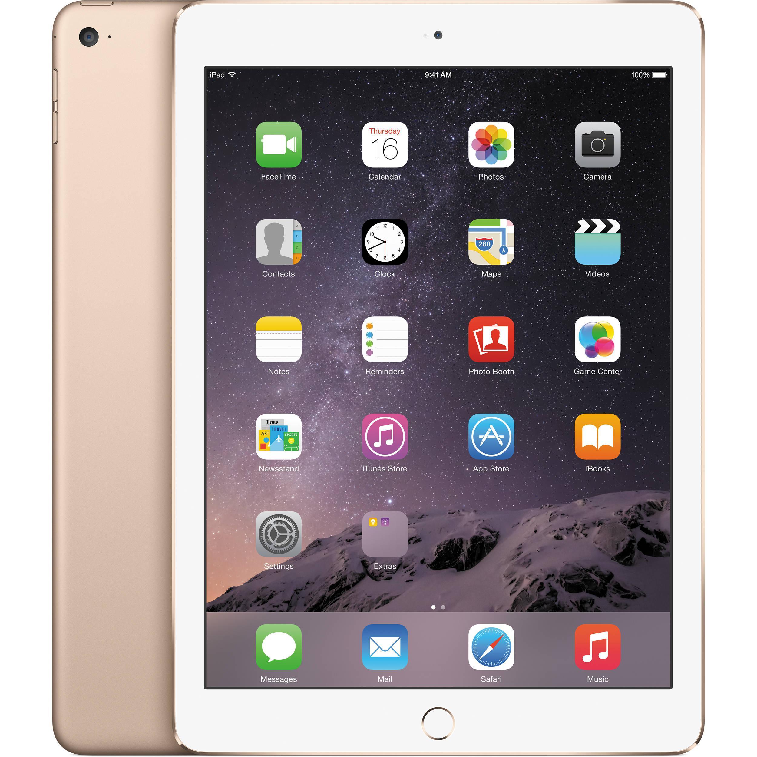 Tablette Apple iPad Air 2 wifi 64 Go (avec 55€ sur la carte + 48€ en bon d'achat)
