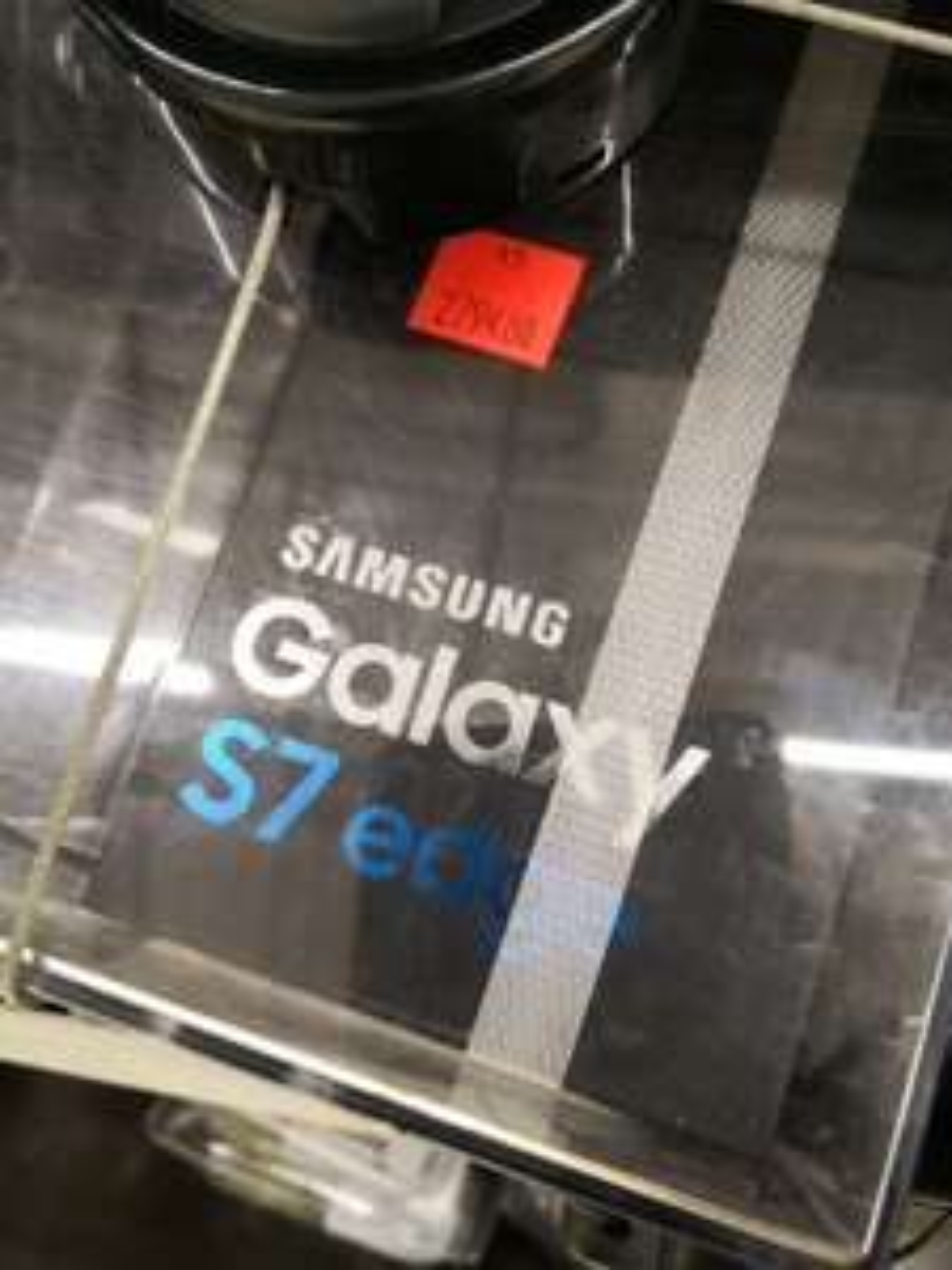 "Smartphone 5.5"" Samsung Galaxy S7 edge (QHD, Exynos 8890, 4 Go de RAM, 32 Go, noir) - Rambouillet (78)"