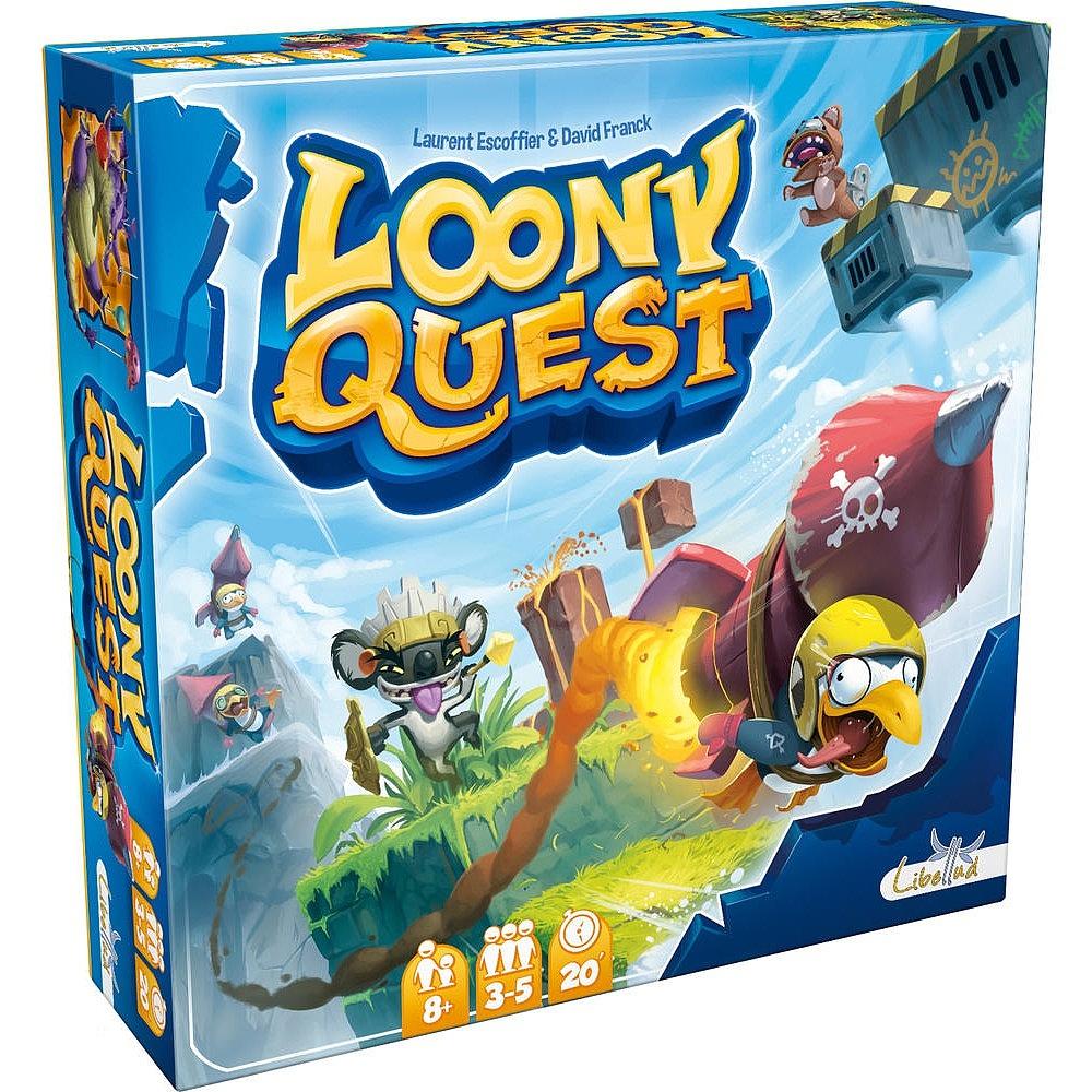 Jeu de société Libellud Loony Quest