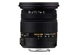 Objectif Sigma 17-50 mm f/2.8 DC OS HSM EX monture Canon