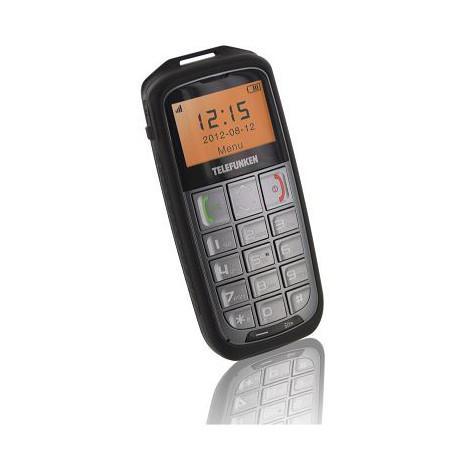 Téléphone portable Telefunken TM600 Crusoé - Argent (via 4.58€ fidélité carte)