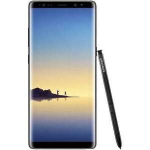"""Smartphone 6.3"""" Samsung Galaxy Note 8 - 6 Go RAM, 64 Go ROM, Noir (Frontaliers Allemagne)"""