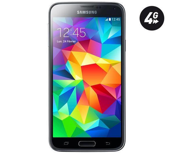 Smartphone Samsung Galaxy S5 - Noir (avec 50€ sur la carte + 60€ en bon d'achat)