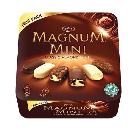 Paquet Mini Magnum (avec 1.93€ sur la carte)