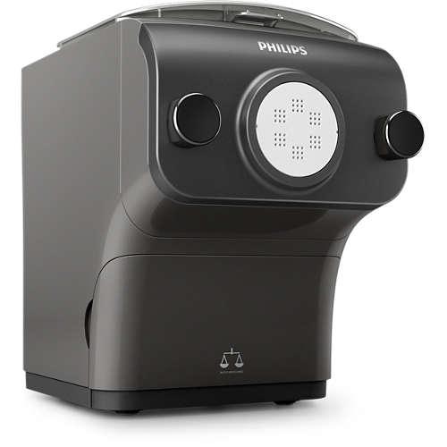 Machine à pâtes avec balance intégrée et 8 formes Philips HR2382 Pasta Maker