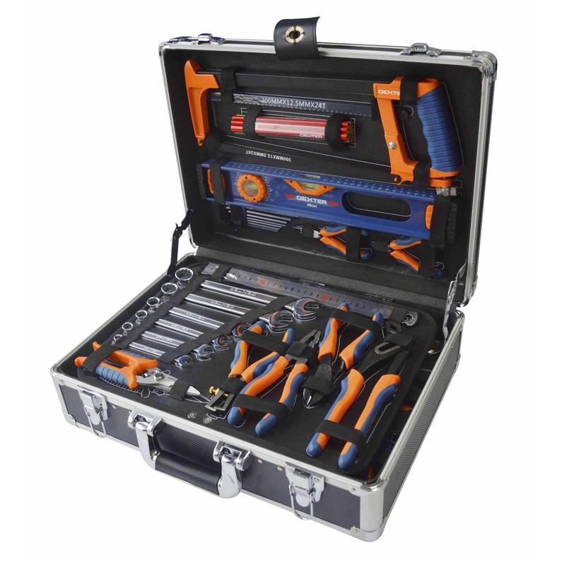 Malette à outils de mécanicien Dexter - 130 pièces
